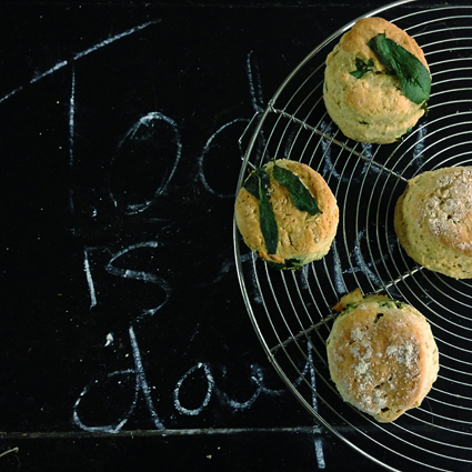 Wild Garlic Scones