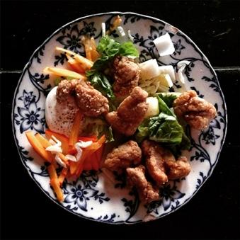 Gluten Free Fried Spiced Chicken